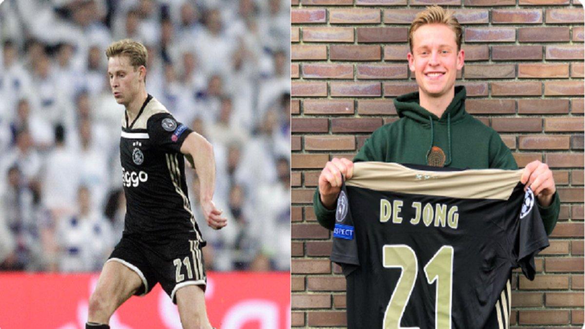 El Ajax sortea la camiseta que lució De Jong en el Bernabéu c3d603a1f30