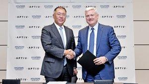 Hyundai y Aptiv se asocian para desarrollar tecnología autónoma.