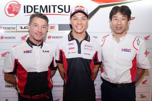 Nakagami seguirá el próximo año en Honda con LCR