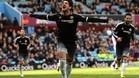 Alexandre Pato celebra su único gol en el Chelsea