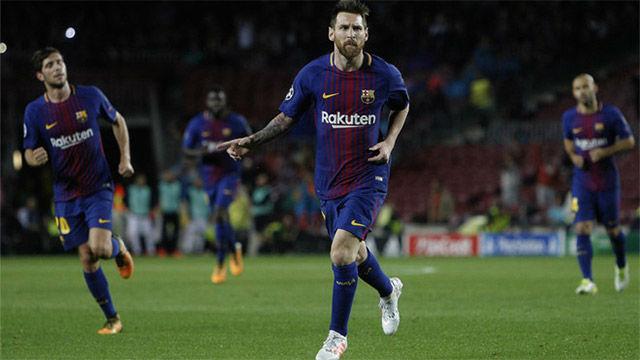 La alineación del FC Barcelona ante el Deportivo