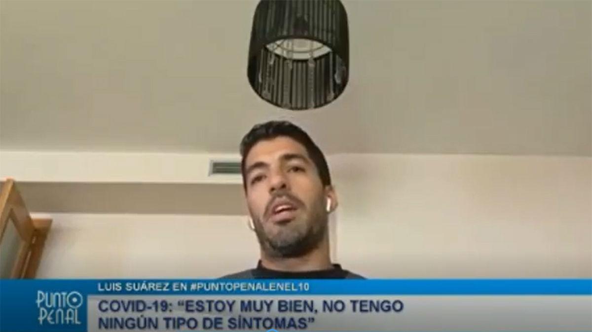 Así explica Luis Suárez cómo cogió el coronavirus