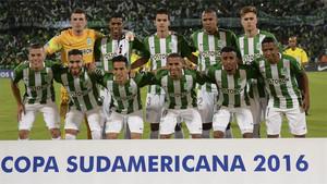 El Atlético Nacional, rival del Chapecoense