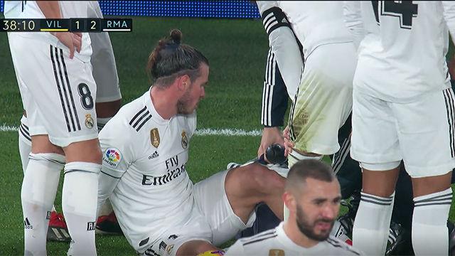 Bale, otra vez lesionado