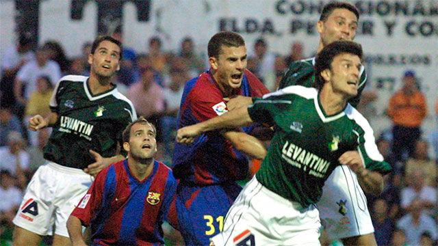 El Barça cayó en Copa ante el Novelda en la temporada 2002-2003