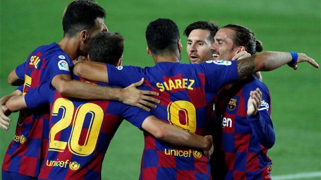El Barça manda con lo justo al Espanyol a Segunda