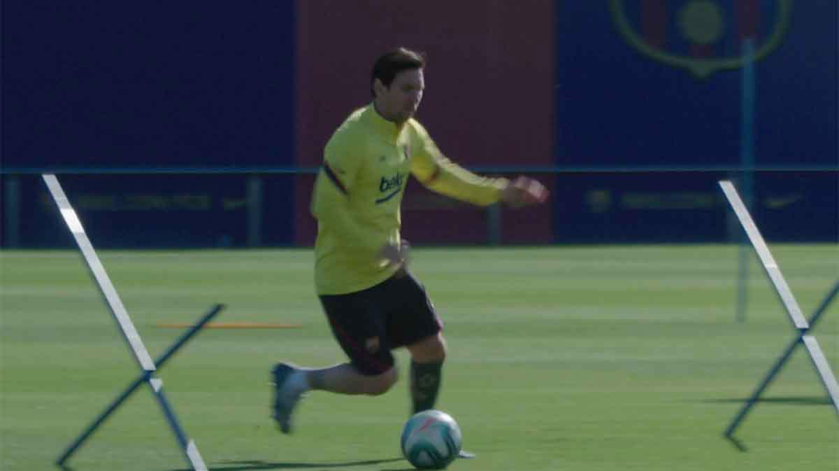 El Barça sigue entrenando esperando el regreso de LaLiga