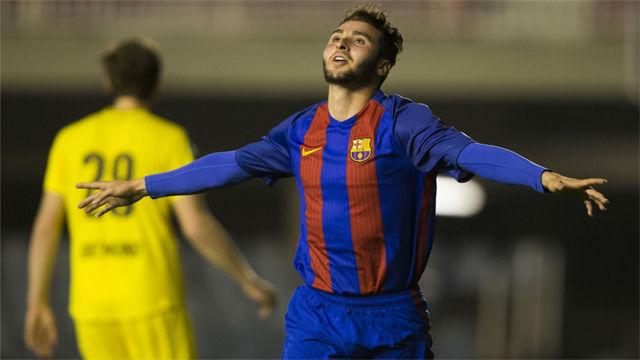 El FC Barcelona anuncia la renovación de Abel Ruiz hasta el 2021