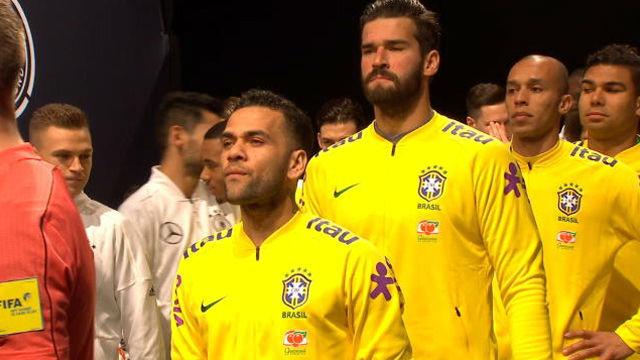 Brasil se llevó la victoria ante Alemania