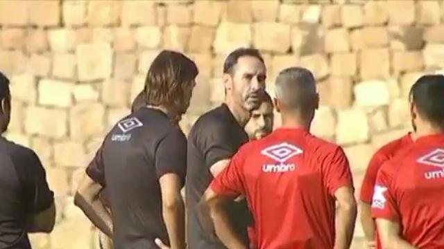 La brutal bronca de Vicente Moreno a los jugadores del Mallorca