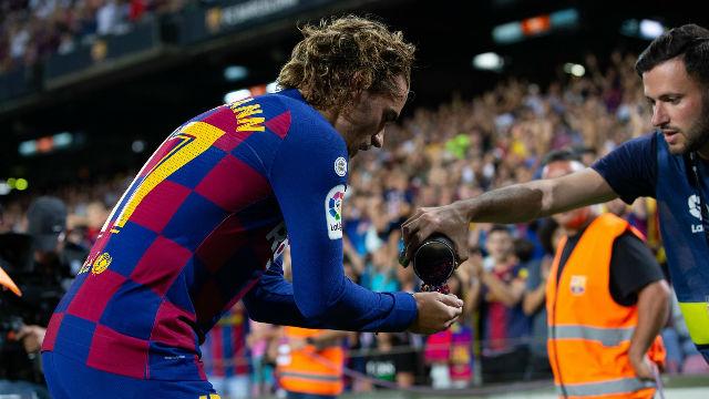 El Community Manager del Barça fue el que dio a Griezmann el confeti