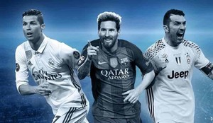 Cristiano, Messi y Buffon están en el equipo ideal de la Champions League