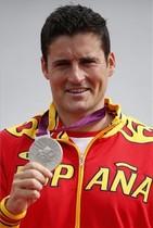 David Cal, plata en C-1 1.000 metros