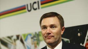 David Lappartient, presidente de la Unión ciclista Internacional