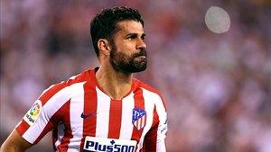 Diego Costa podría reaparecer en la visita a Butarque de la segunda jornada