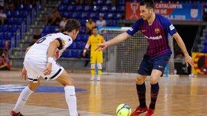 Diego y David Álvarez, en la pasada final de la Copa de Catalunya