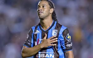 Esta es la foto que colgó Ronaldinho en su cuenta de Twitter agradeciendo el trato recibido