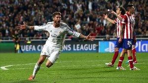 Este gol de Sergio Ramos permitió al Real Madrid forzar la prórroga