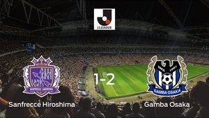 El Gamba Osaka derrota 1-2 al Sanfrecce Hiroshima y se lleva los tres puntos