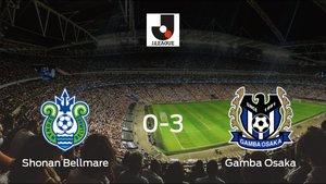 El Gamba Osaka muestra su poderío tras golear al Shonan Bellmare (0-3)