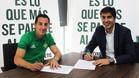 Guardado fue presentado oficialmente por el Betis