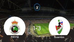 El Guarnizo vence en La Albericia al Racing B (1-3)