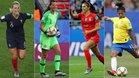 Henry, Endler, Alex Morgan y Cristiane son algunas de las figuras de la primera jornada del Mundial
