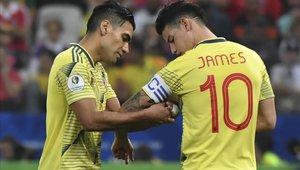James y Falcao quedaron fuera de la lista de Queiroz