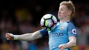 Kevin de Bruyne tendrá 31 años cuando termine su contrato con el Manchester City