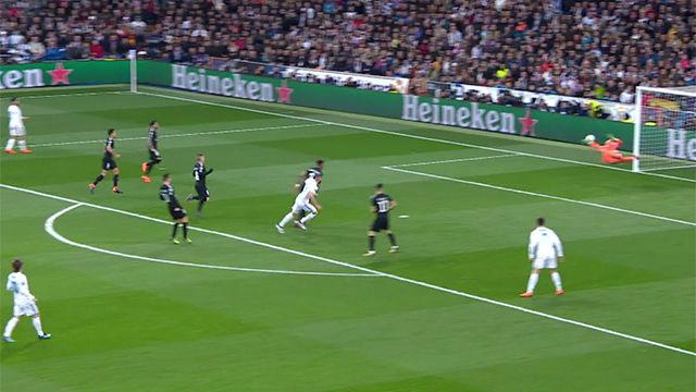 LACHAMPIONS | Real Madrid-PSG (3-1): La espectacular parada de Aréola a Benzema