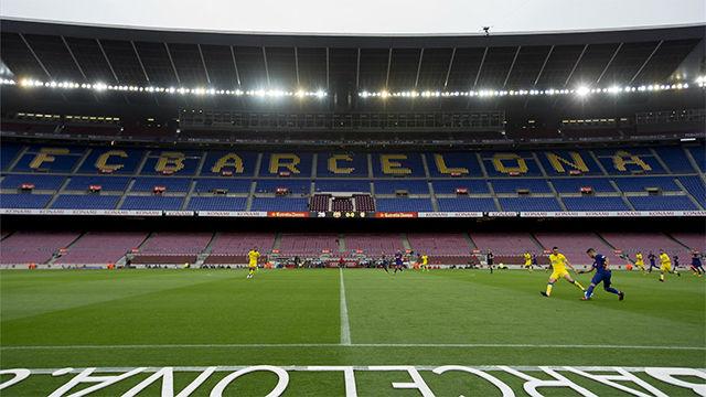 LALIGA | Barça-UD Las Palmas (3-0): La triste imagen del Camp Nou vacío
