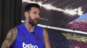 Leo Messi habla de su renovación: Lo lleva mi papá, pero no hablamos con el Barça, me lo hubiera dicho