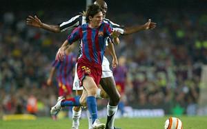 Leo Messi maravilló al mundo en el Gamper de 2005