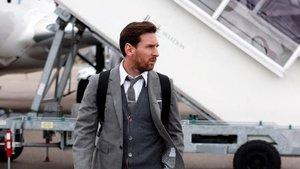 Los extravagantes pantalones de Leo Messi se convierten virales en Twitter | FC Barcelona