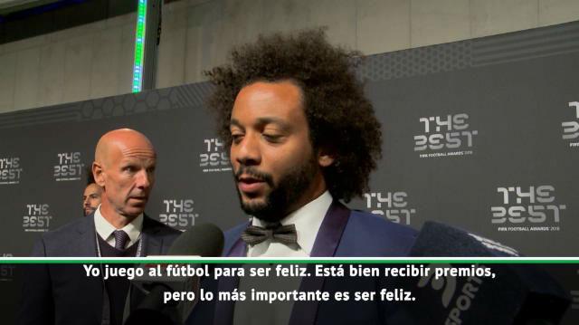 Marcelo: No pienso en ser el mejor lateral de la historia