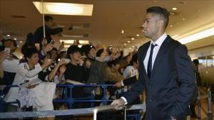 Mariano ya es, de nuevo, futbolista del Real Madrid