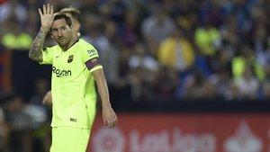 Messi lamenta los goles del Leganés
