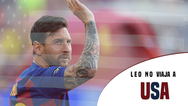 Messi se lesiona y se pierde la gira americana del equipo