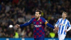 Messi es el máximo goleador de la Liga y aspirante a la Bota de Oro 2020