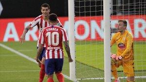 Morata abrió el marcador a los 52 segundos de partido