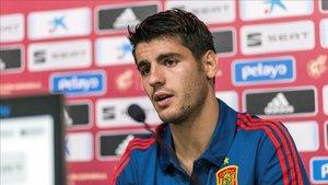 Morata no cree que Griezmann abandone el Atlético
