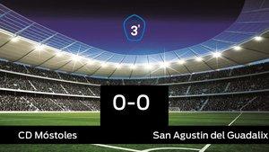 El Móstoles y el San Agustin del Guadalix se repartieron los puntos tras un empate a cero