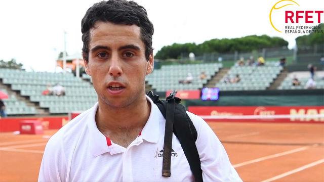 Munar ya tiene ganas de volver a competir en el circuito ATP