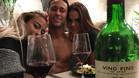 Neymar, muy feliz junto a su novia y su hermana