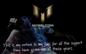 La nueva web de Messi tiene un diseño espectacular