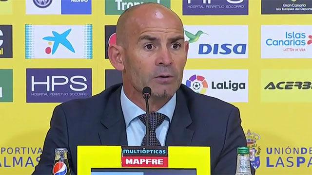 Paco Jémez tras perder contra el Villareal
