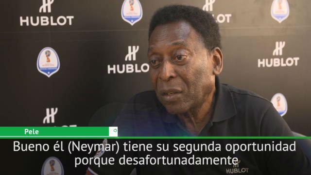 Pelé: Neymar tiene una segunda oportunidad tras el desastre de Río