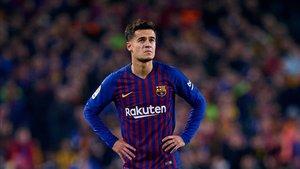 Philippe Coutinho podría salir del Barça si no consigue revertir la situación