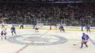Piqué presenció en directo un partido de la NHL