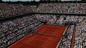 La pista Philippe-Chatrier de Roland Garros